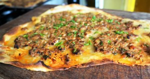 Lamb Flatbread Wrap by Theo Michaels - homemade