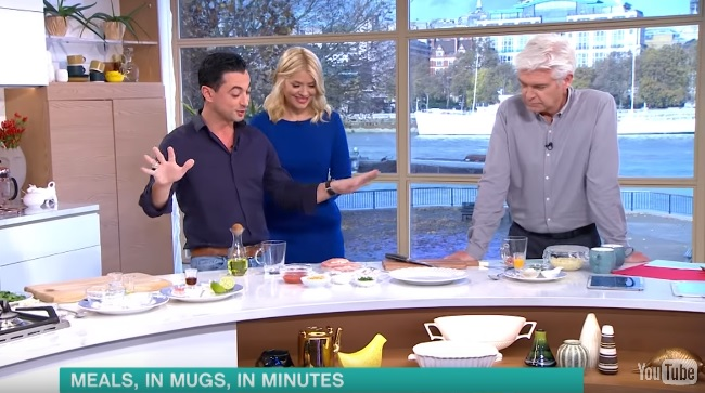 ITV's This Morning – Theo's Microwave Mug Meals