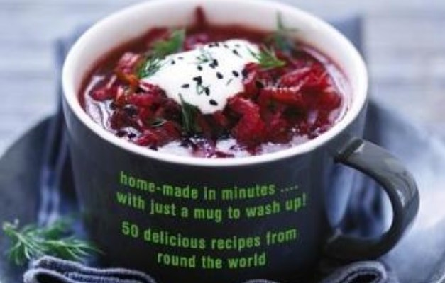 My New Book is out now! Microwave Mug Soups