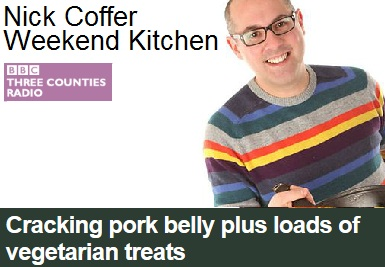 BBC Radio Weekend Kitchen Show with Nick Coffer – another great morning!