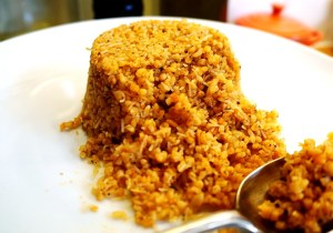 Pourgouri Recipe by Theo Michaels - Greek Bulgur Wheat recipe