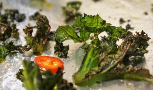 Kale Crisps - how to make kale chips by Theo Michaels