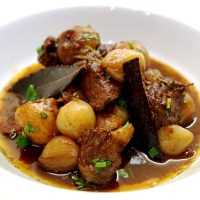 Beef Stifado - Greek Beef Stew Recipe | Traditional beef stifado recipe