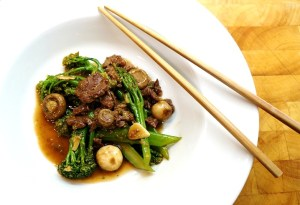 Teriyaki Beef & Broccoli Stir Fry