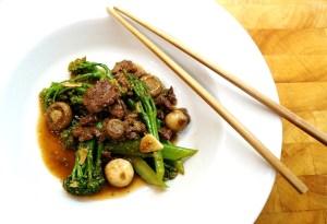 Teriyaki Beef & Broccoli Stir Fry