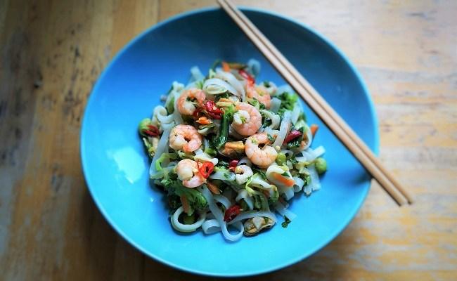 Thai Seafood Salad | Thai Salad Recipe