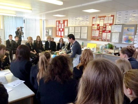 Mercury Newspaper – Sheredes School Demo with Theo