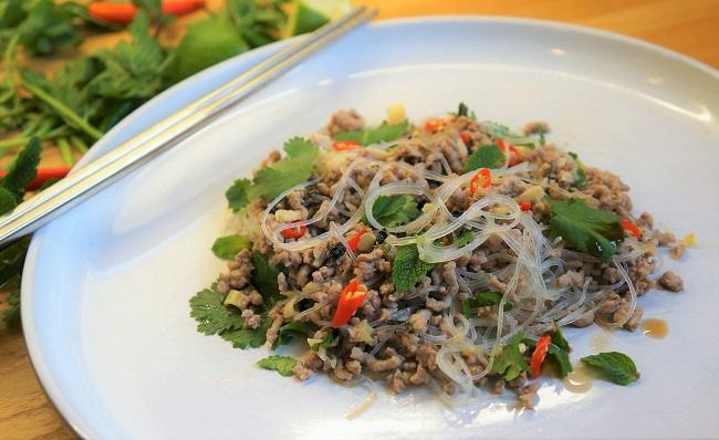 Pork Larb Recipe | Laos National Dish