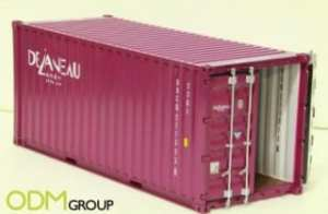 Fit In A Container - Miniature Shipping Container