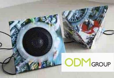 Portable Paper Speaker