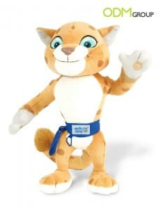 Promo Gift by Olympic Games in Sochi 2014: Plush Mascot