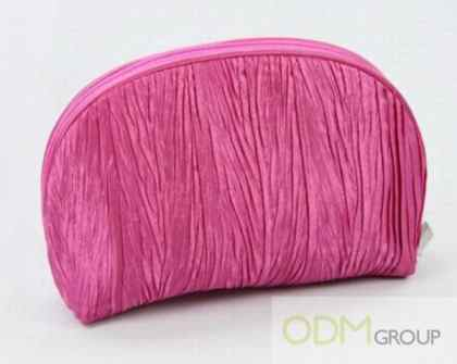 Oval-Shaped Make Up Pouch