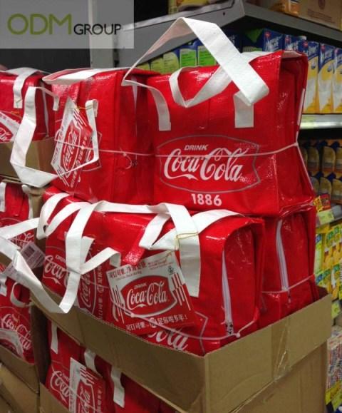 Coca Cola's Zipper Recyclable Bag as Marketing Campaign!
