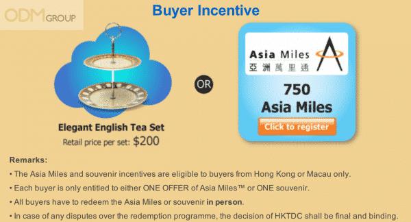 Free Gifts From HKTDC - English Tea Set