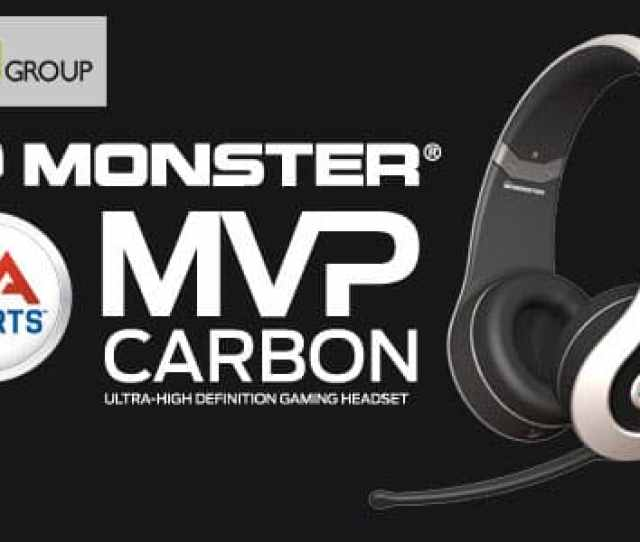 Pepsi Marketing Gift Ea Sports Mvp Carbon By Monster Headsets