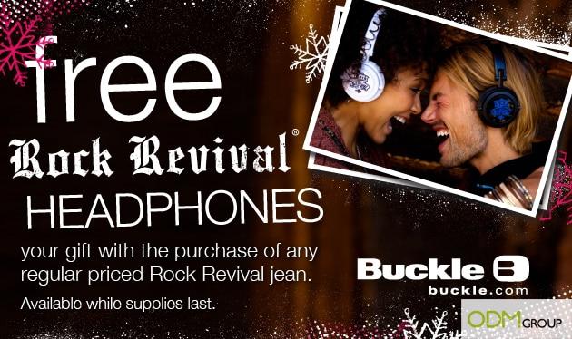 Rock Revival Offers Funky Custom Headphones as GWP