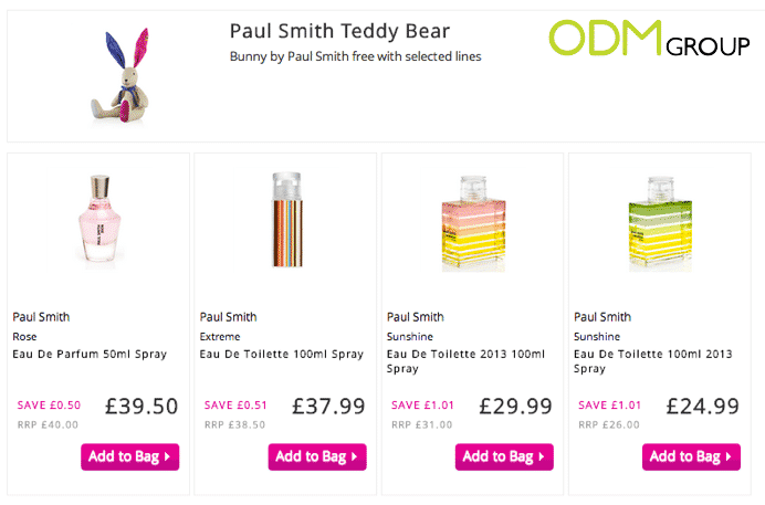 Paul Smith Bunny Plush Toy Promotion
