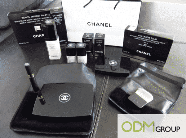 Chanel Cosmetics Packaging