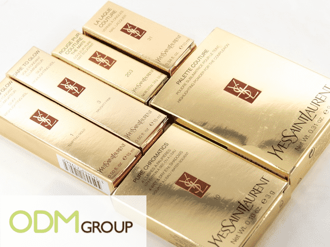 YSL Cosmetics Packaging