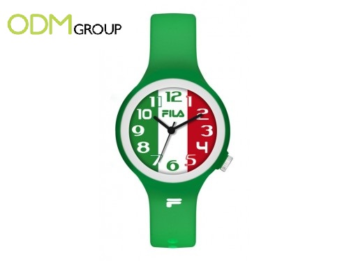 These promotional gifts set your watch to Brazil time