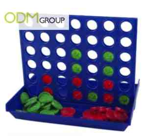 four in a row marketing gift games