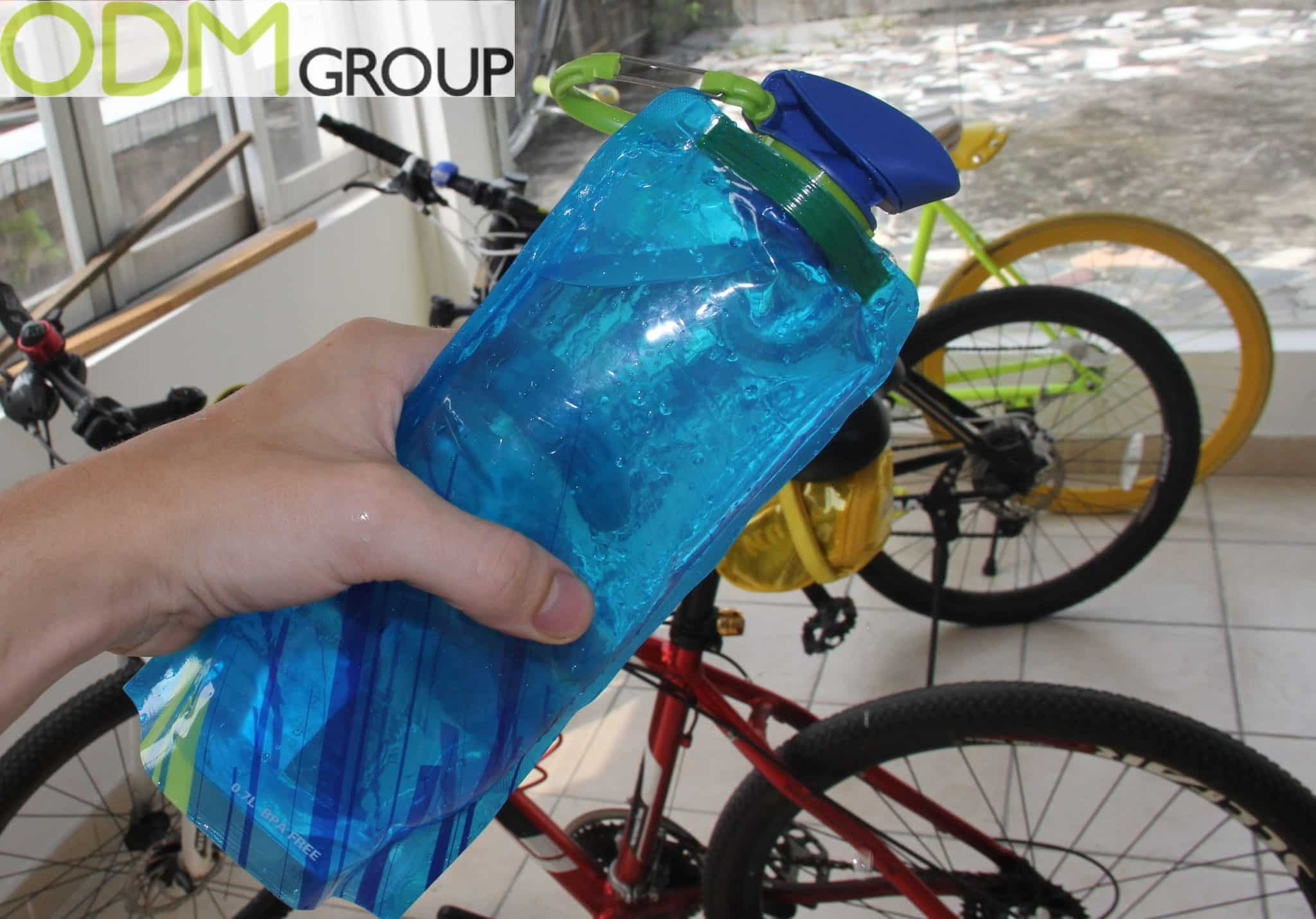 Innovative Collapsible Water Bottle - Sports Merchandise