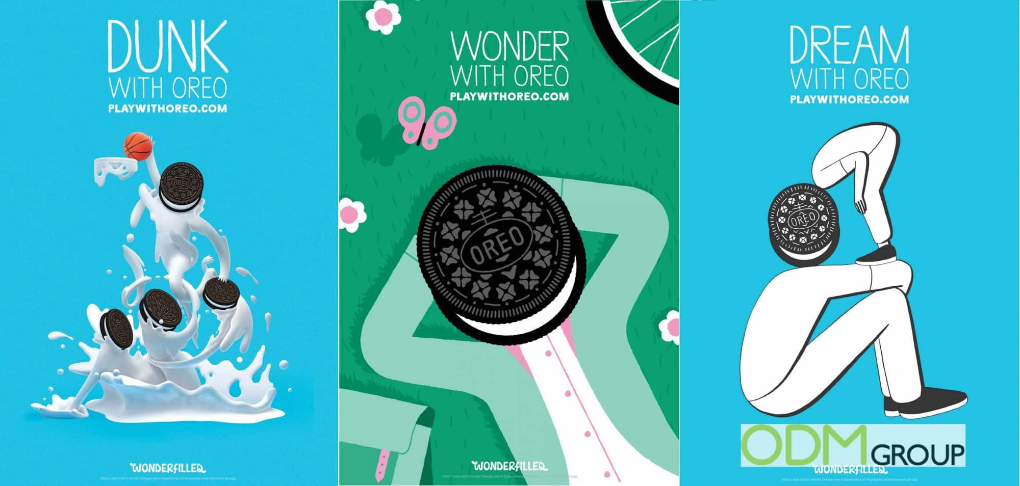 """""""Wonderfilled"""" On Premise Campaign by Oreo"""