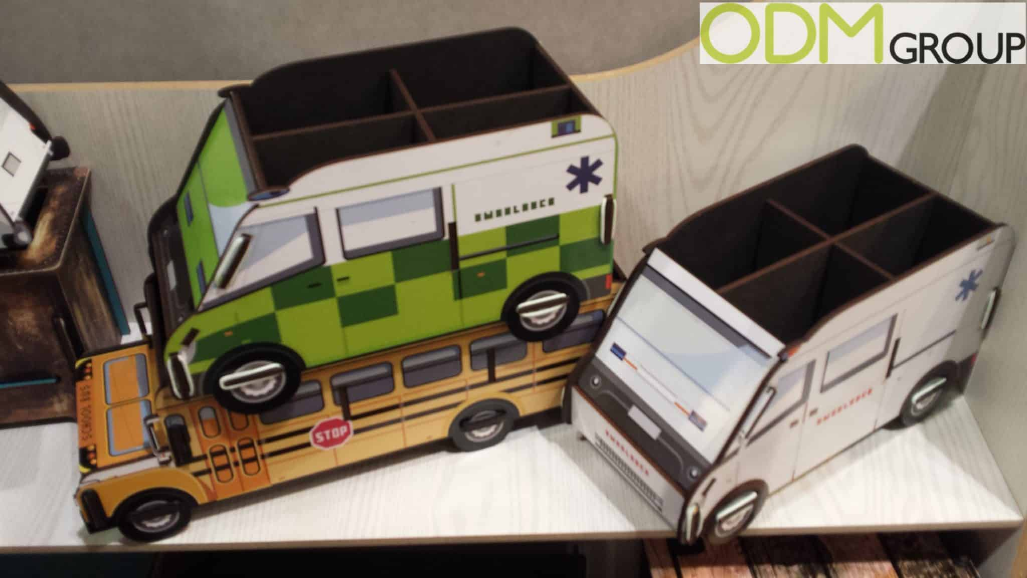 Freight Merchandise Custom Desk Tidy