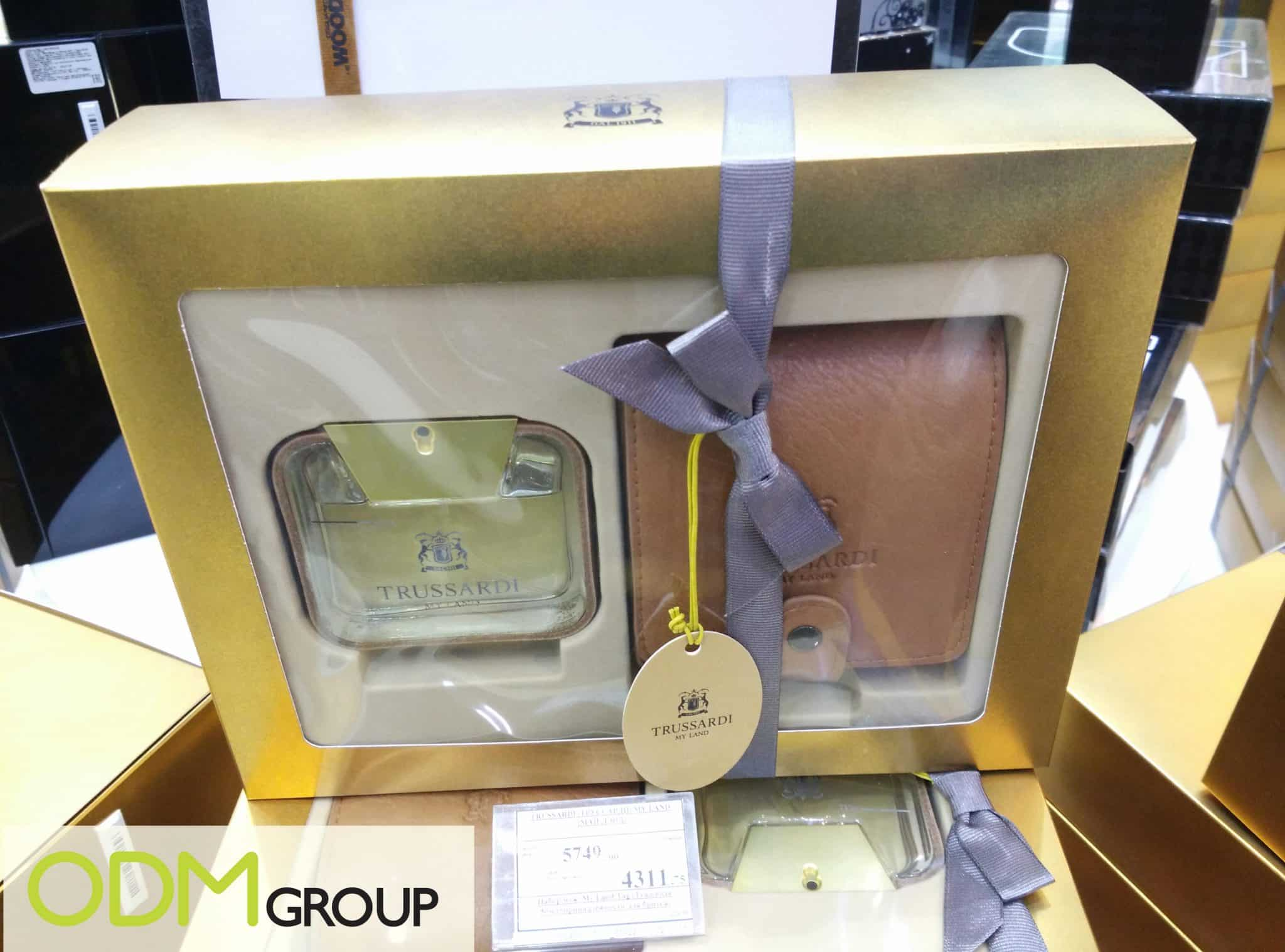 Gift Set by Trussardi Russia: Branded Wallet and Leather Case