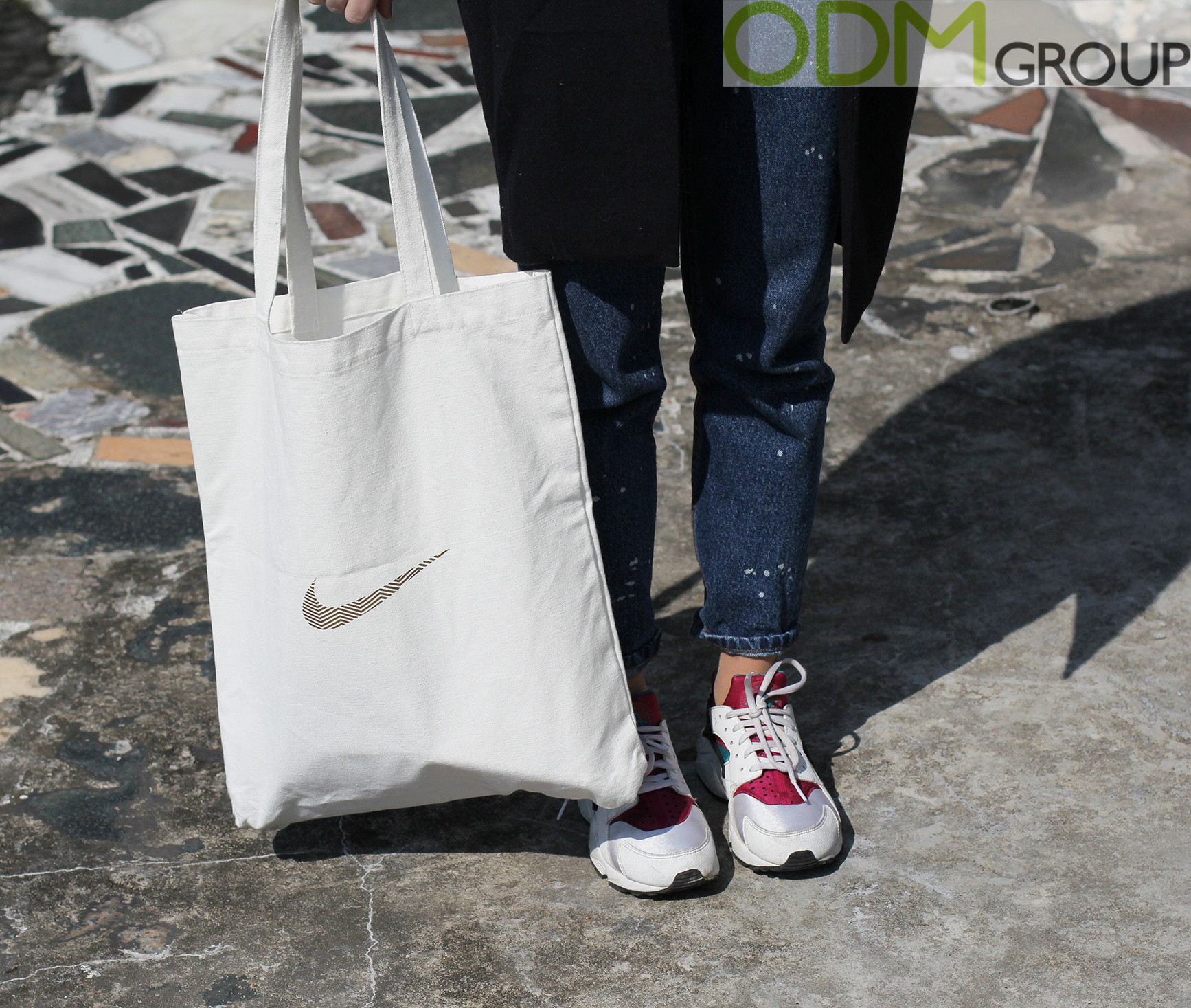 Branded Canvas Bag: Promotional Giveaway by Nike