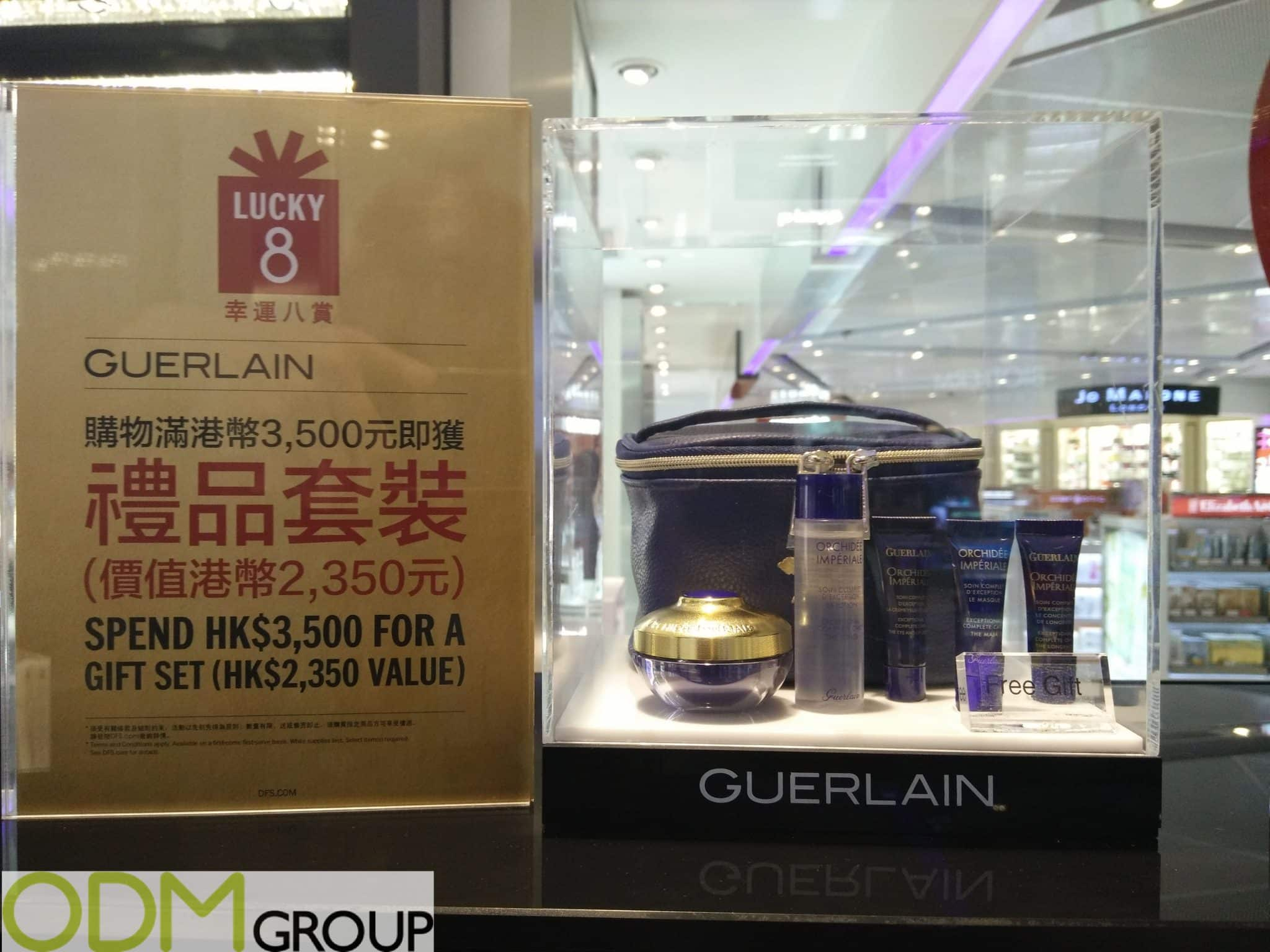 Promotional Cosmetics Bag- Gift Bag by Guerlain
