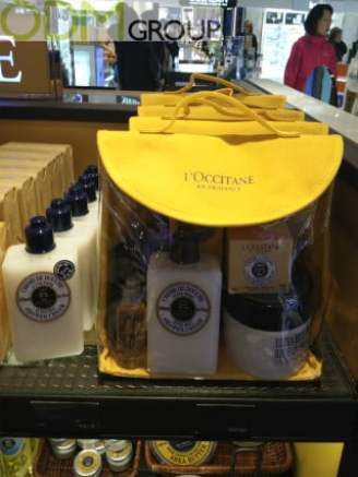 On Pack Promotion with L'Occitane