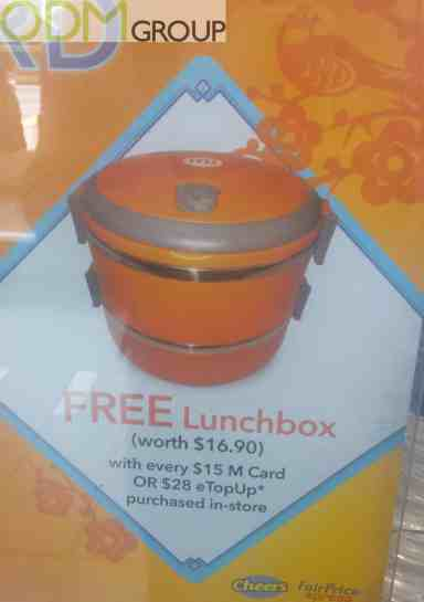 Promotional Offer by M1 Mobile - Free Lunchbox