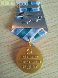 Retro Medals For Special Event Promotions