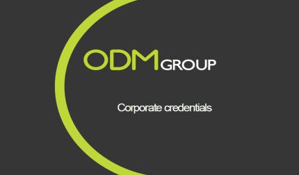 ODM Corporate Credentials