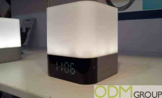 3 in 1 Branded Alarm clock with Built In Light and Powerbank