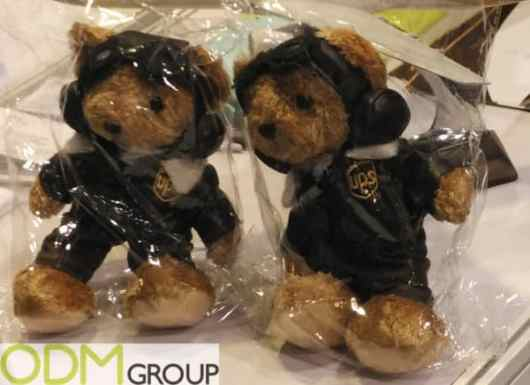 Custom Plush Toy - Promotional Mascot For UPS