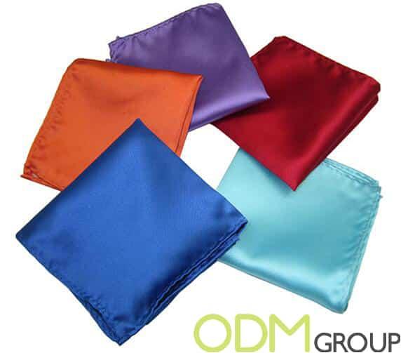 Event Promotion - Custom Silk Pocket Square