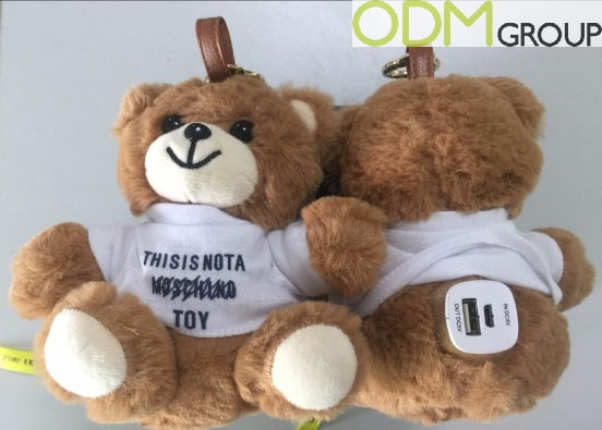 Promo Power Bank Idea - Charging Teddy Bear