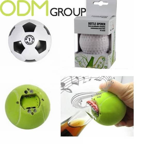 Creative Sports Promotion - Ball Shape Bottle Opener