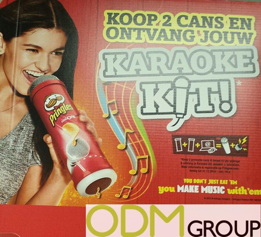 In Store Promo - Custom Karaoke Set by Pringles