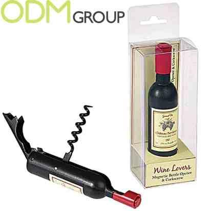 Wine Promotions: Bottle Shaped Corkscrew