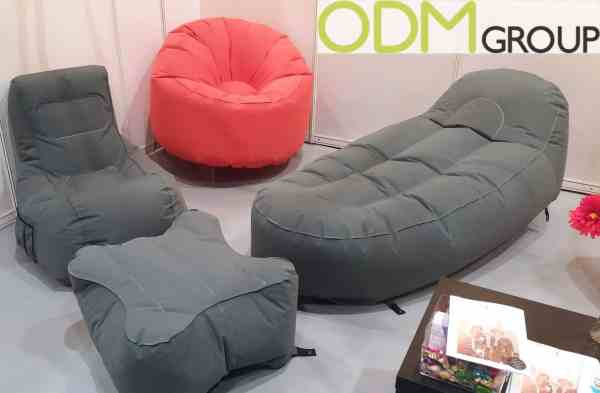 Custom Inflateable Seatings at HK Mega Show
