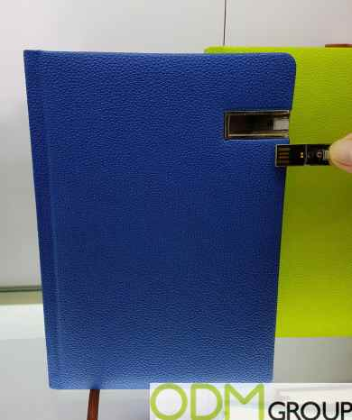 Unique Promo Item - Notebook with USB Stick