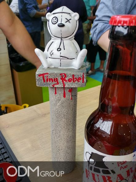 Drinks Promo Idea - Custom beer tap example by Tiny Rebel