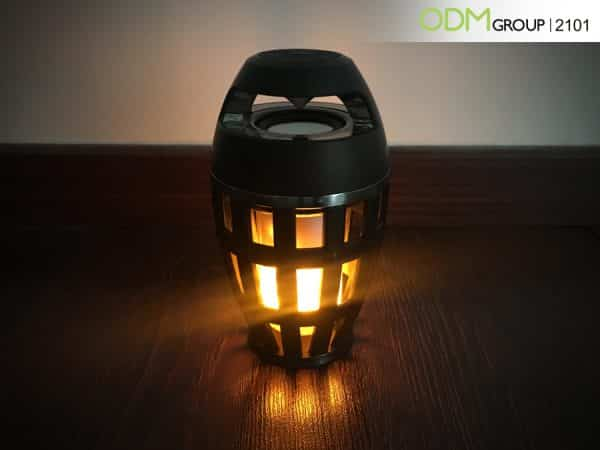 How to Use a Promotional Speaker with Flame Effect for Marketing