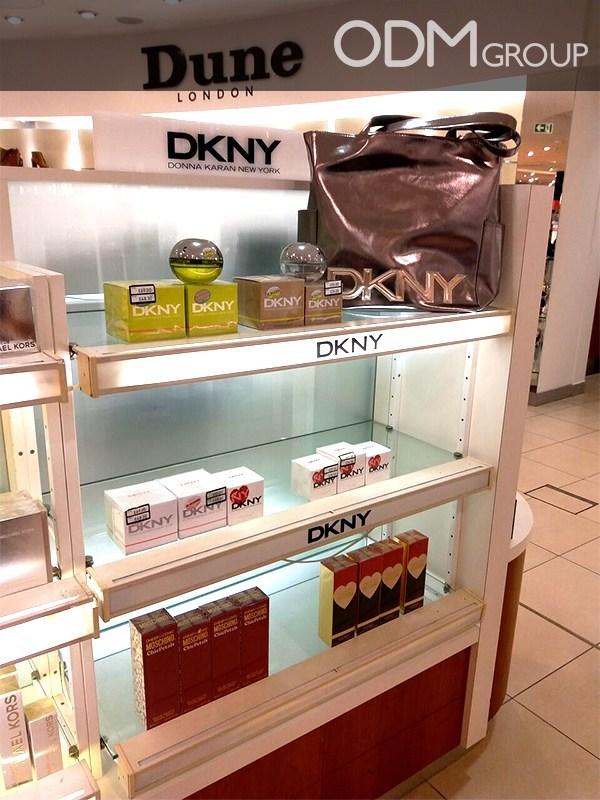 DKNY Promotes Brand with Premium Custom Branded Bag