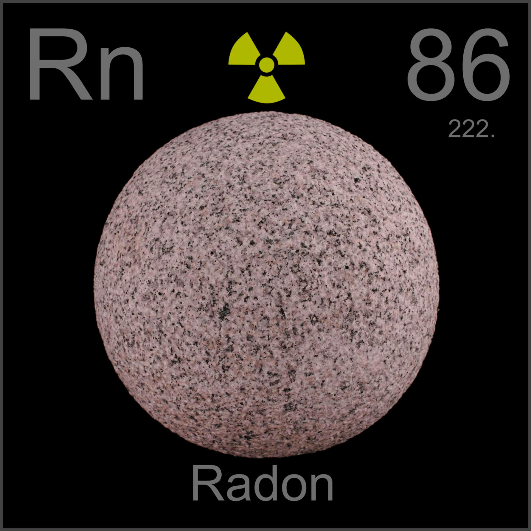 Sample Of The Element Radon In The Periodic Table