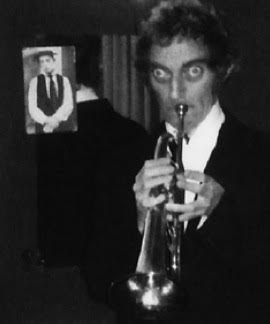 marty trumpet with buster in background
