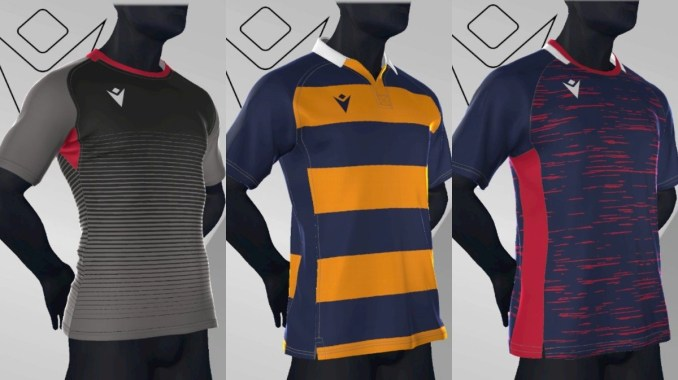 Design the kit to suit your team with badges, logos and numbers included as required.